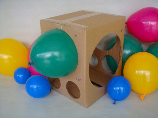 Medidor para balões de papelão
