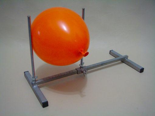 Medidor para balões de ferro