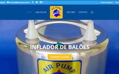 Conheça o novo site da Air Pump